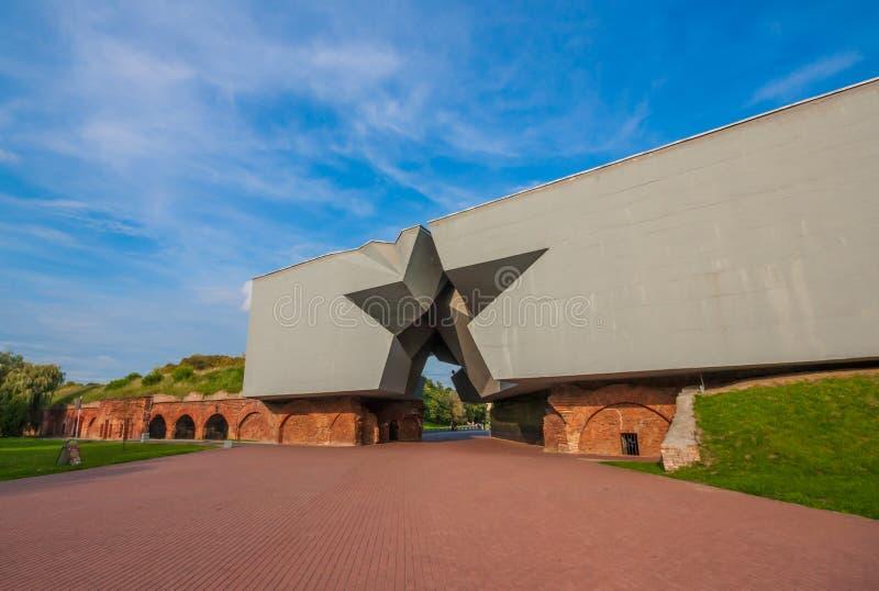 Le style soviétique Brest, Belarus images libres de droits