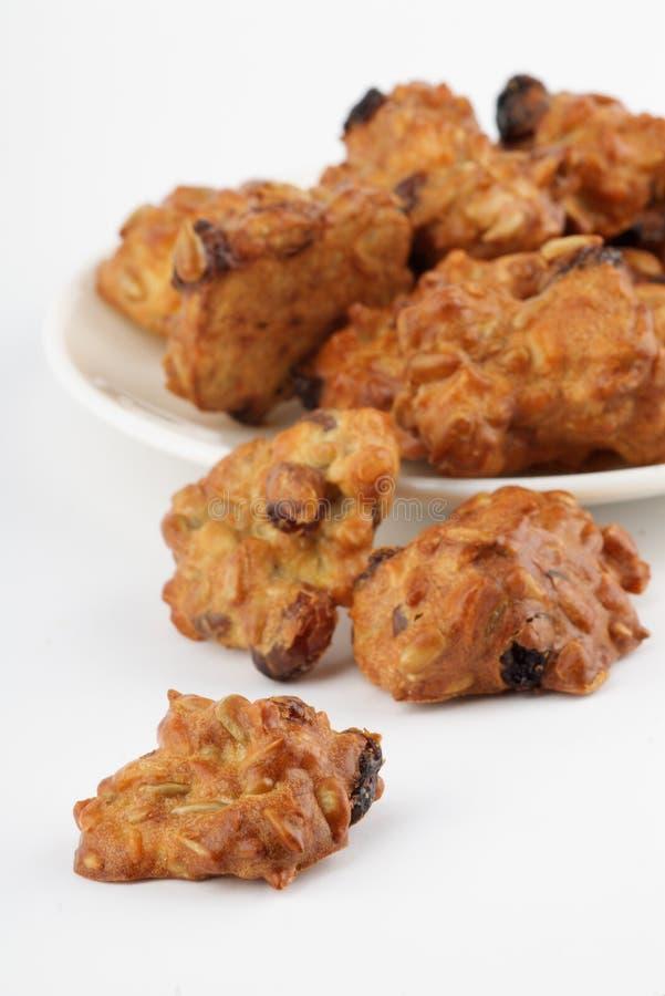 Le sucre libèrent des biscuits photo stock