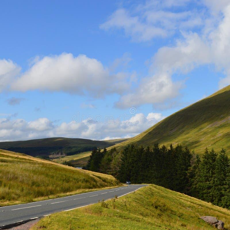 Le sud du pays de Galles images libres de droits