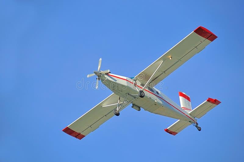 Le Suisse a effectué l'avion photos stock