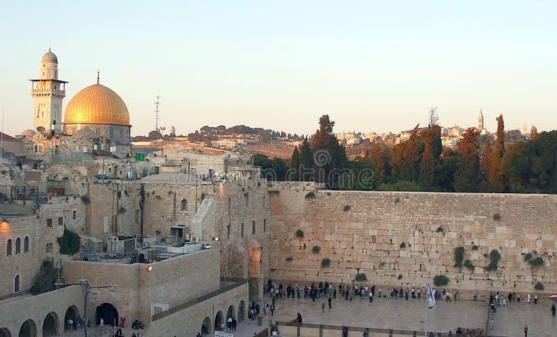 Le support de temple à Jérusalem images libres de droits