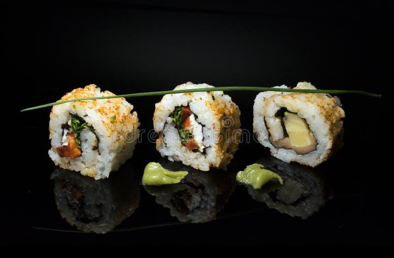 le sushi est une forme d'art à découvrir photographie stock