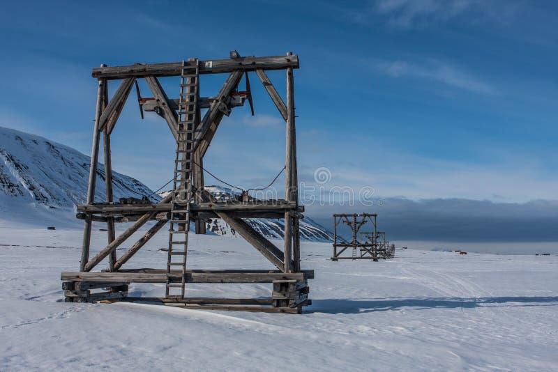 Le Svalbard, Norvège photo stock