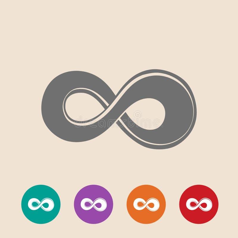 Le symbole de l 39 infini illustration de vecteur illustration du maths 42471161 - Symbole de l eternite ...