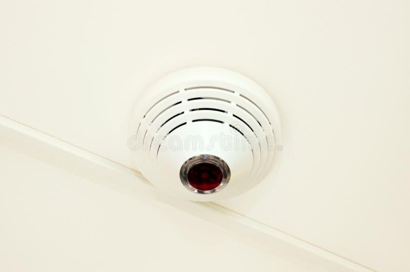 Le système d'alarme d'incendie-empêchement photographie stock
