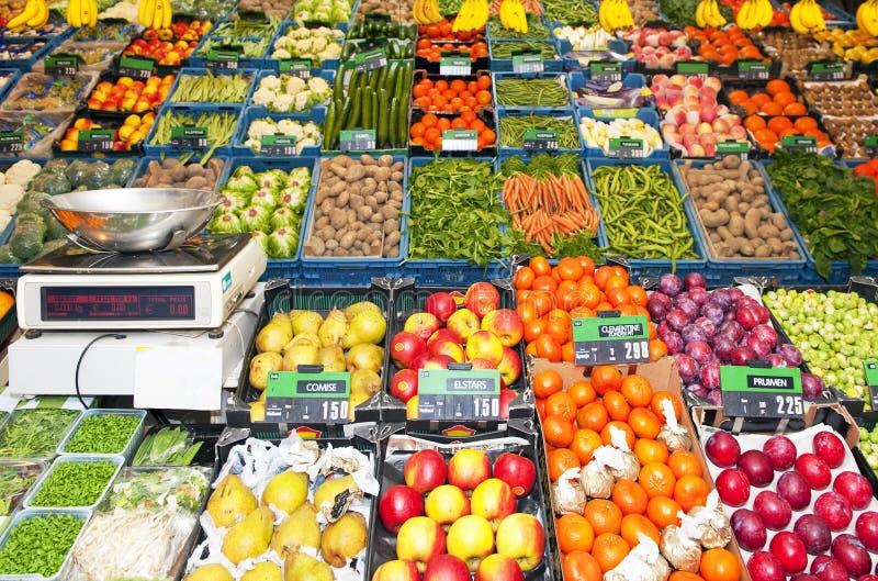 Le système du marchand de légumes image stock