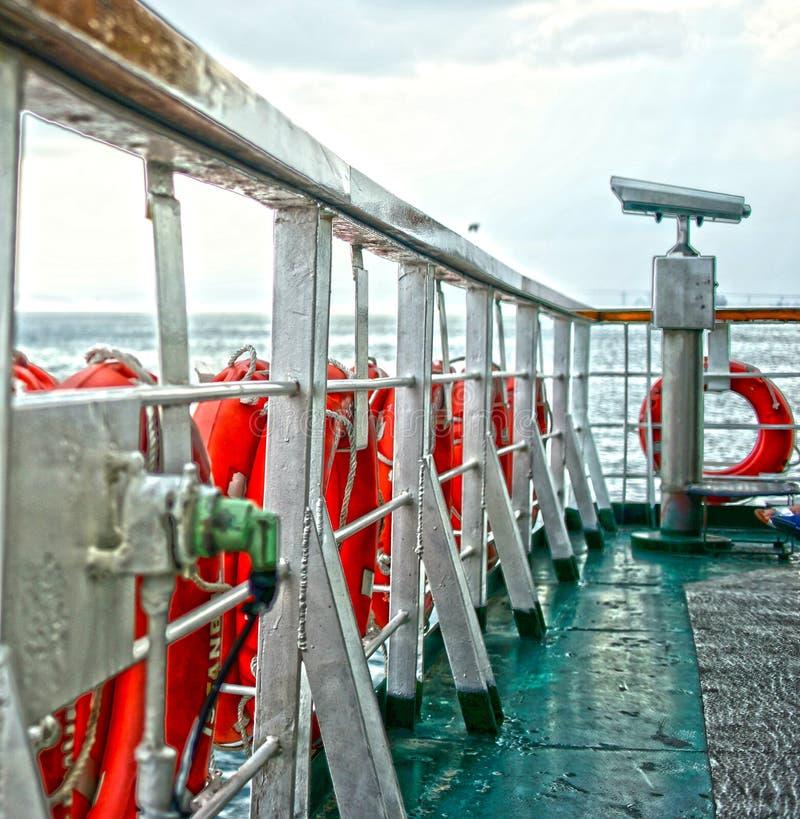 Le télescope Marmara de ferry-boat arrose Istanbul Turquie photos stock