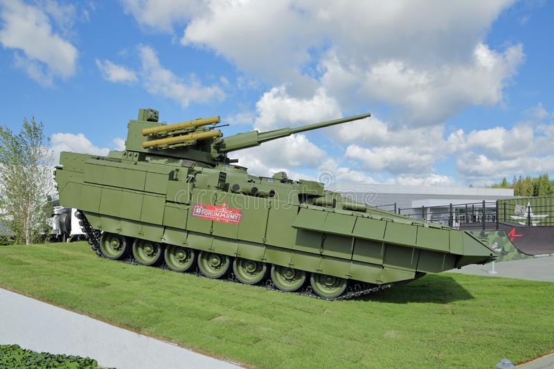 Le T-15 Armata photo stock
