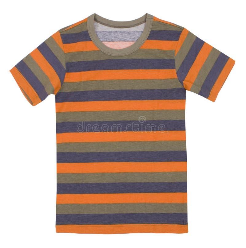 Le T-shirt des enfants d'isolement photo stock