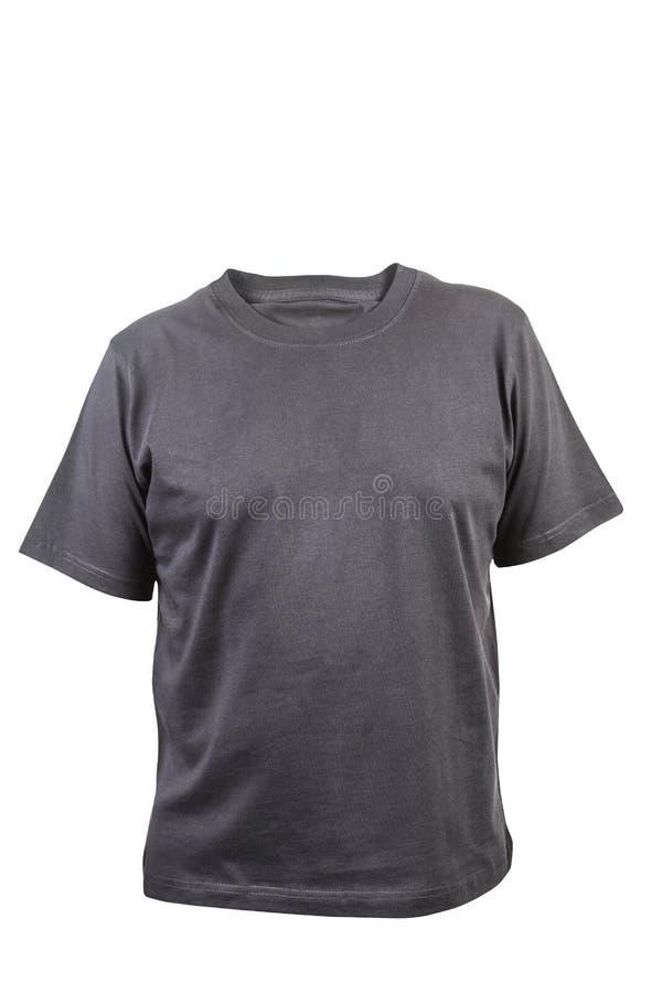 Le T-shirt des hommes d'isolement sur le fond blanc. photographie stock