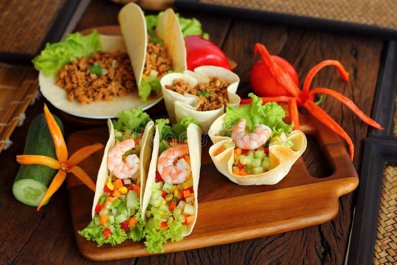 Le Tacos est nourriture mexicaine image libre de droits