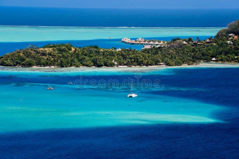 Le Tahiti photographie stock