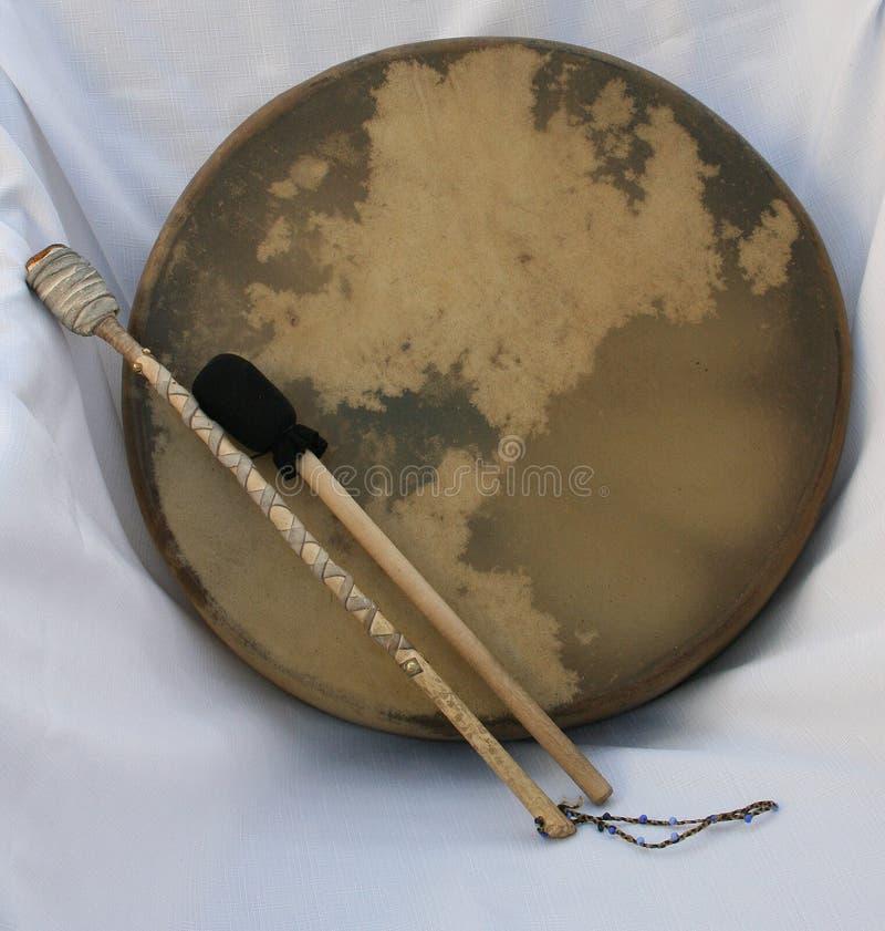 Le tambour du Shaman image libre de droits