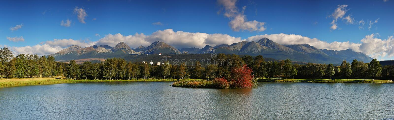 Le Tatras photographie stock libre de droits