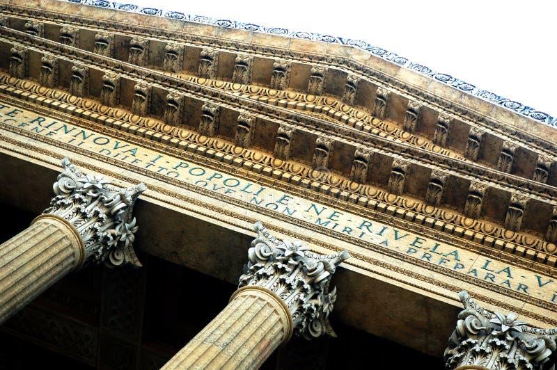 Le Teatro Massimo [02] photos libres de droits