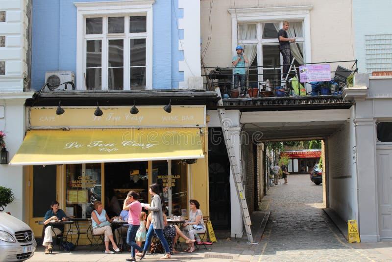 Le-Tee-angenehmes Café, Primel-Hügel lizenzfreie stockfotos