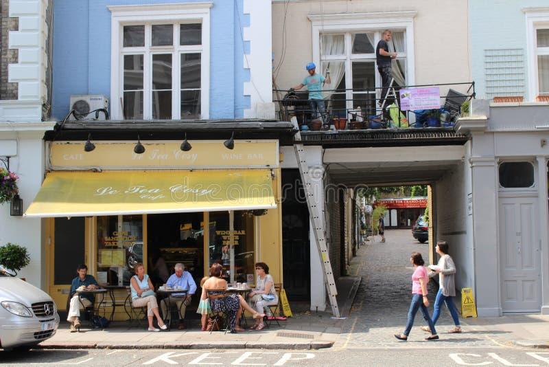 Le-Tee-angenehmes Café, Primel-Hügel lizenzfreies stockfoto