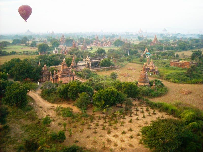 Le tempie della Birmania fotografie stock