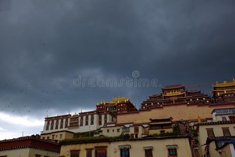 Le temple photo libre de droits