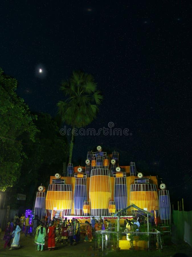 Le temple image libre de droits
