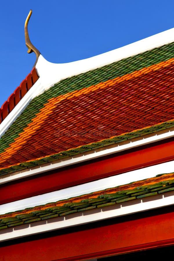 le temple Bangkok Asie photo stock