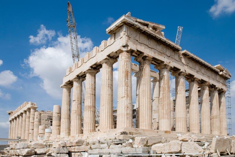 Le temple d'Athéna photographie stock libre de droits