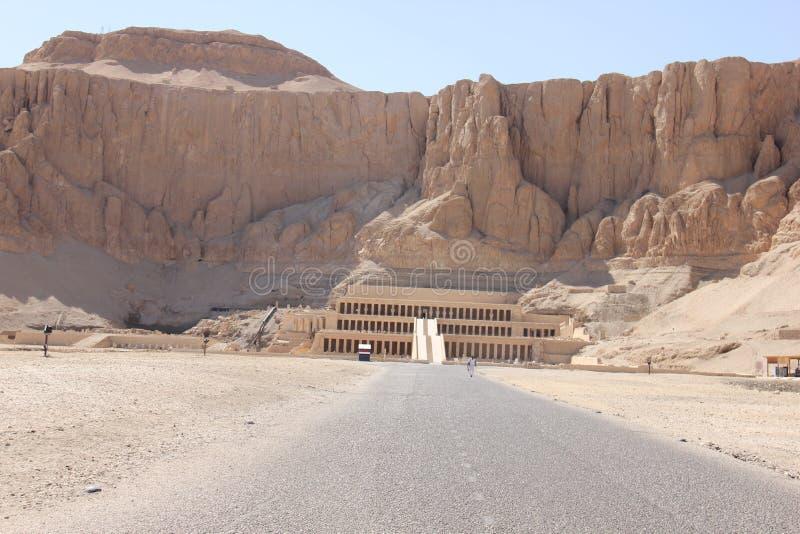 Le temple de Hatshepsut près de Louxor dans Egyp images libres de droits