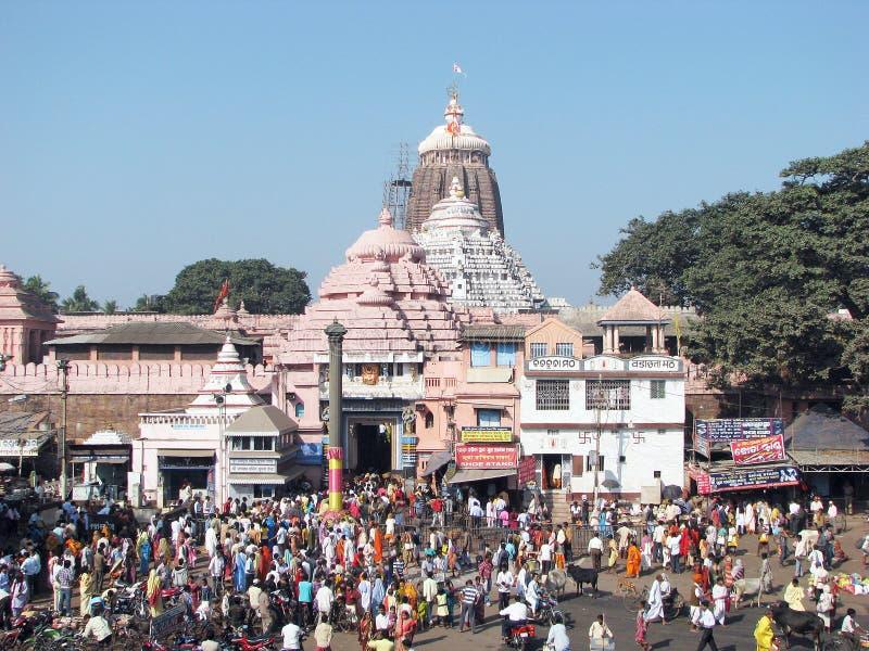 Le temple de Jagannath dans Puri photos stock