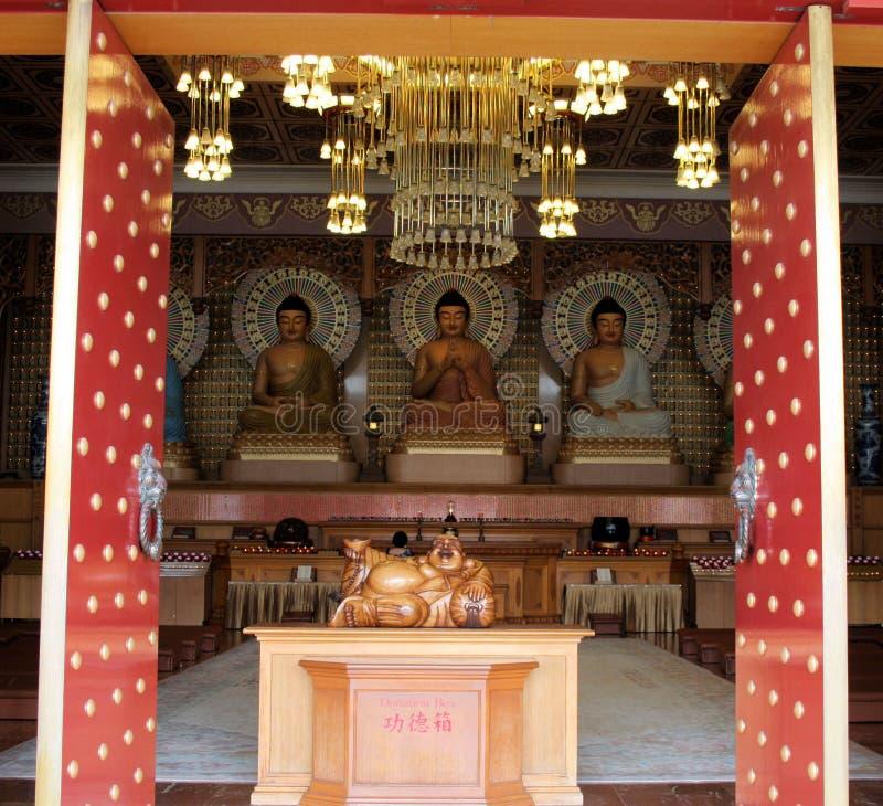 le temple de nan tien images stock