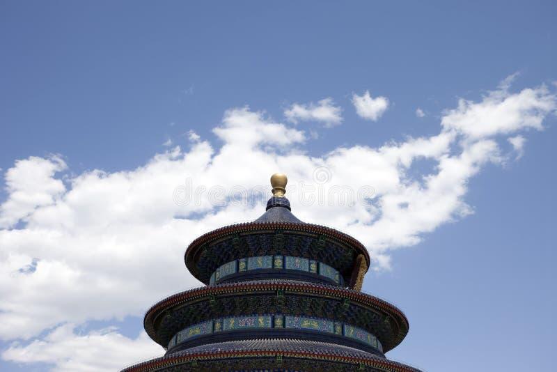 Le temple de Pékin du ciel image libre de droits