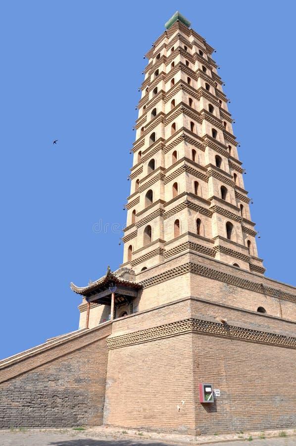 Pagoda de Haibao images stock