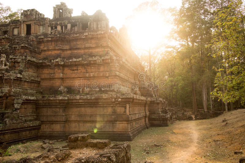 Le temple de Phimeanakas à Angkor Thom, Cambodge image stock