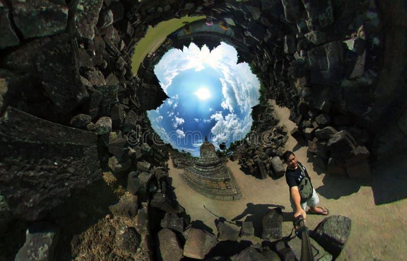 Le temple de Plaosan photo libre de droits