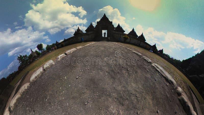 Le temple de Plaosan photos stock