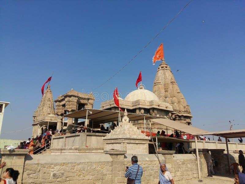 Le temple de Rukmani près de Dwarka photographie stock