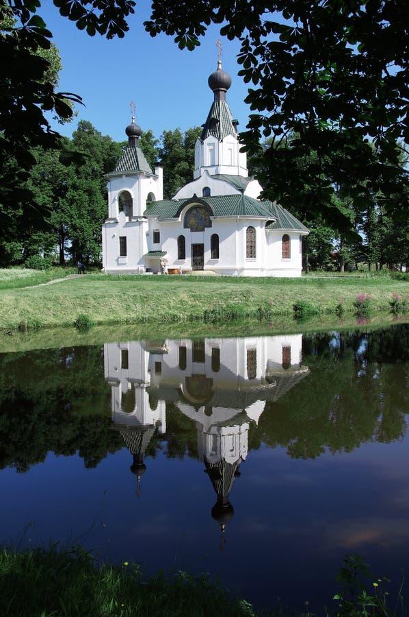 Le temple de St Elizabeth Russie Religion nature beauté Éducation spirituelle Foi dans le seigneur photo stock