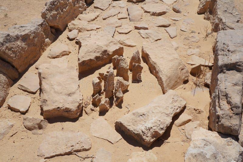Le temple des léopards, Israël photo stock