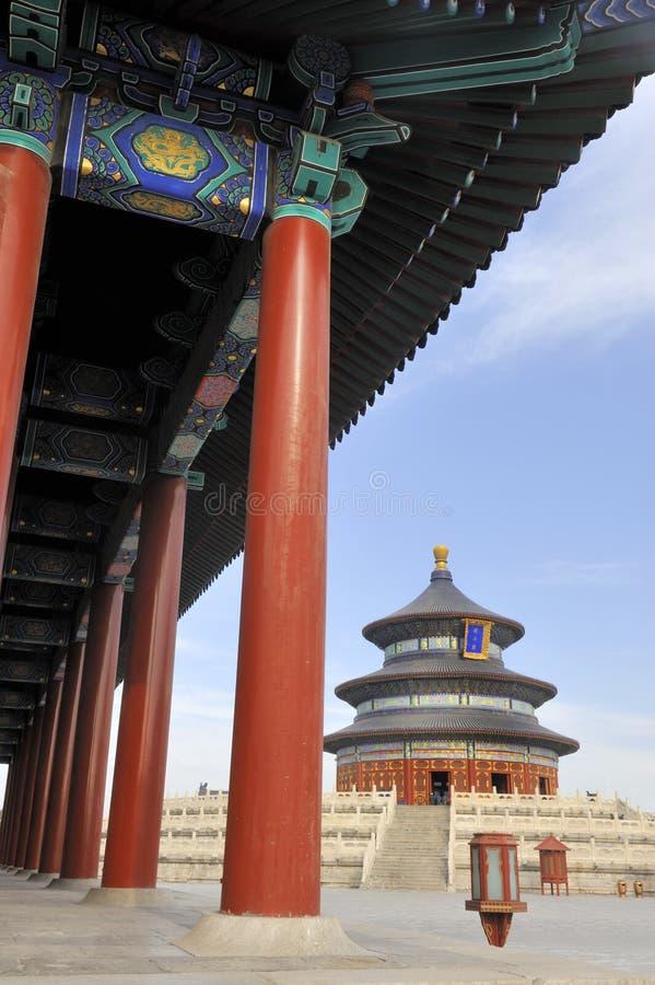 Le temple du ciel à Pékin, Chine image libre de droits