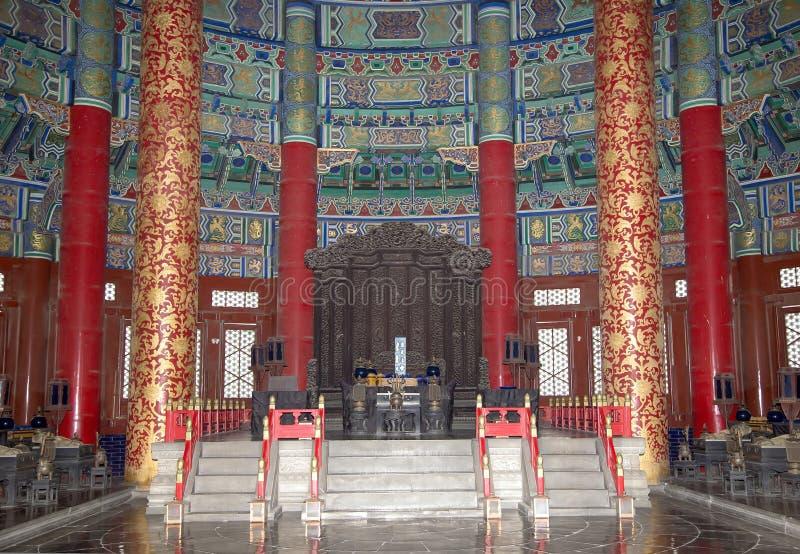 Le temple du Ciel (autel de ciel), Pékin, Chine photos libres de droits