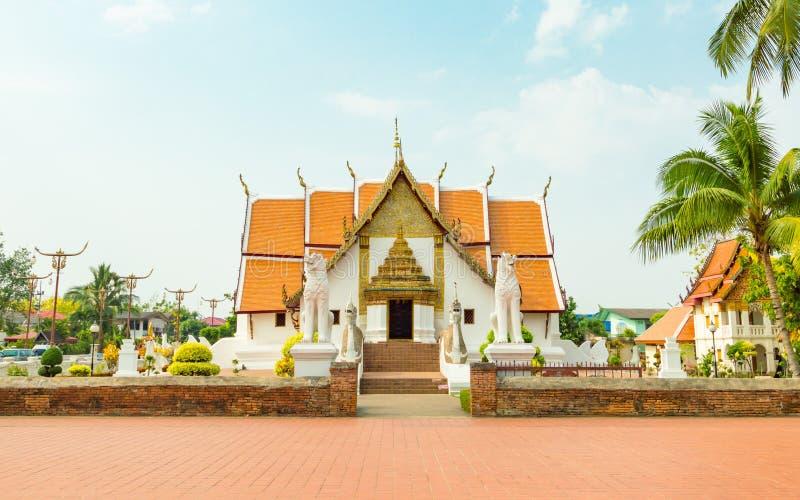 Le temple est un lieu public Créé plus de 100 années photo libre de droits