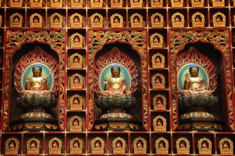 Le temple et le musée de relique de dent de Bouddha image stock