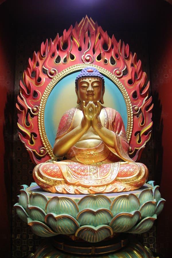 Le temple et le musée de relique de dent de Bouddha photo libre de droits