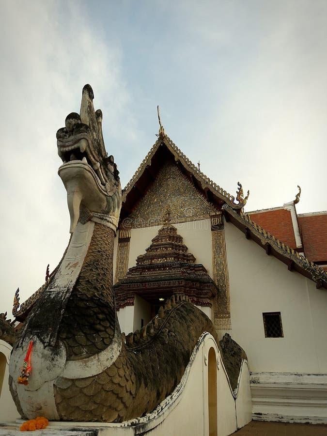 Le temple le plus ancien en Thaïlande photographie stock