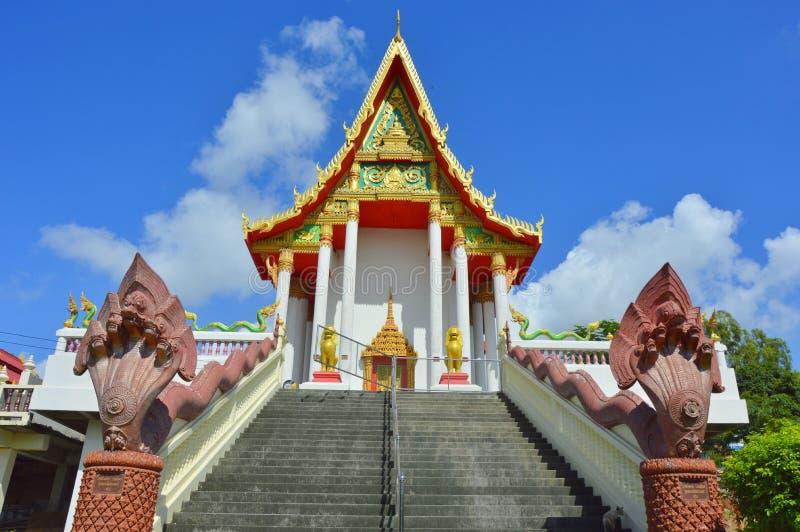 Le temple thaïlandais est beau photographie stock libre de droits