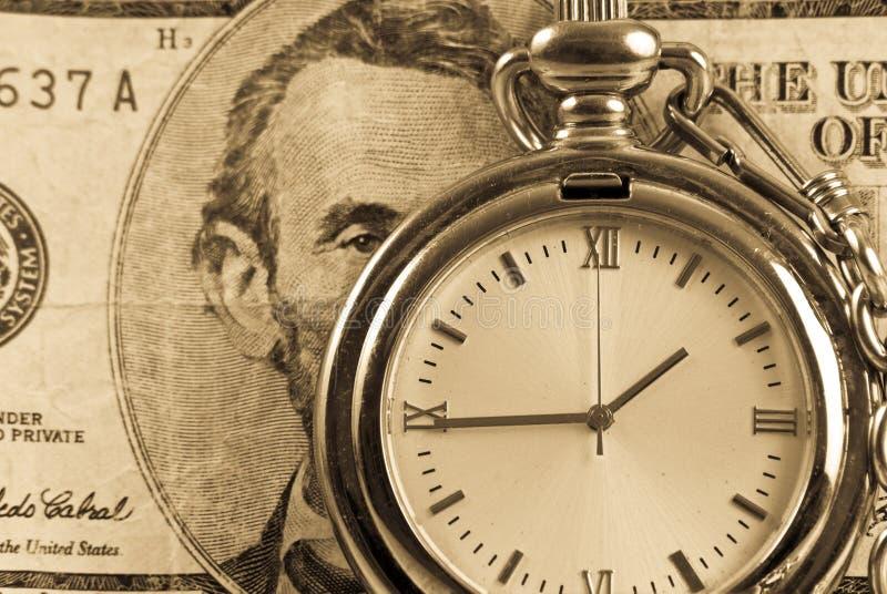 Le temps, c'est de l'argent photos stock