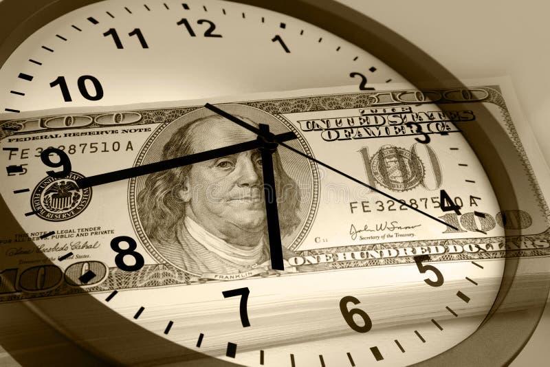 Download Le Temps, C'est De L'argent Concept Photo stock - Image du cash, date: 45365034