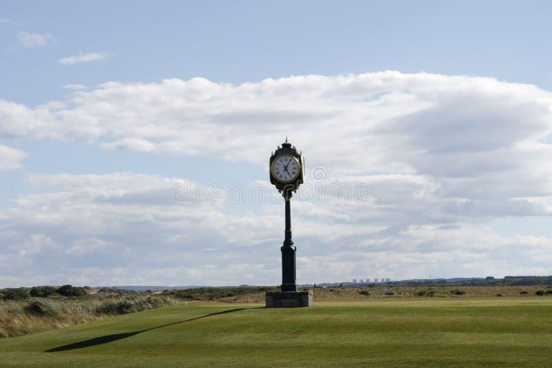 Le terrain de golf international de Donald Trump Balmedie, Aberdeenshire, Ecosse photos libres de droits