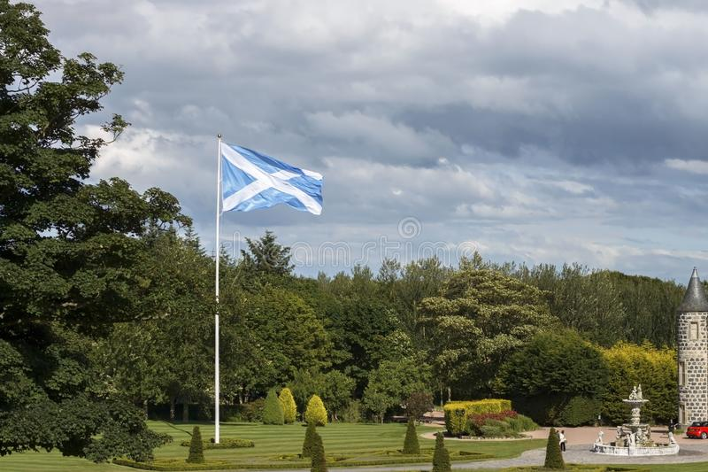 Le terrain de golf international de Donald Trump Balmedie, Aberdeenshire, Ecosse images stock