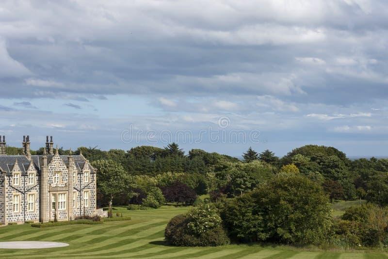 Le terrain de golf international de Donald Trump Balmedie, Aberdeenshire, Ecosse photo stock