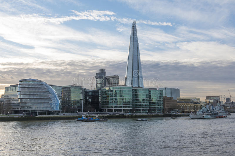 Le tesson, Londres photos stock
